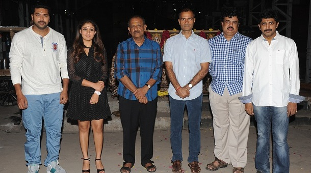 Photo of Jayam Ravi & Nayanthara – Movie Launch