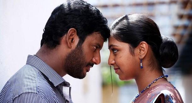 Lip lock for Vishal & Lakshmi? - Only Kollywood Naan Sigappu Manithan Lakshmi Menon Lip Lock