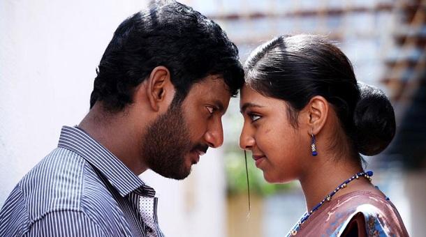 Lip lock for Vishal & Lakshmi? - Only Kollywood Naan Sigappu Manithan Lakshmi Menon Kiss