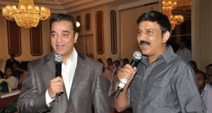 Kamal Hassan, Ramesh Aravind at FICCI MEBC 2012 Honoring Legends Photos