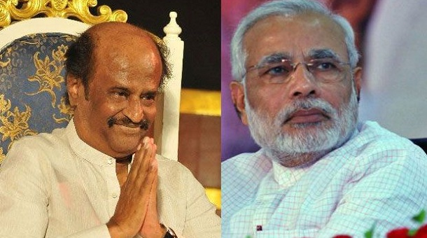 "Photo of ""We are good friends,"" says Rajinikanth after meeting Modi"