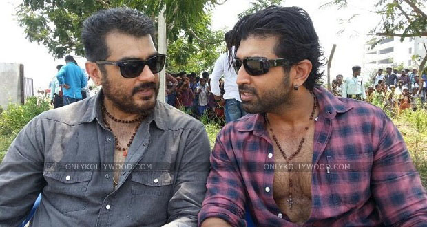 Photo of Arun Vijay's gratifying experience in Thala 55