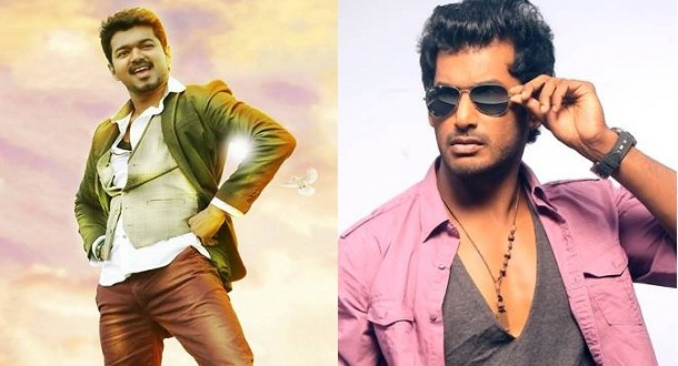 Vishal's Poojai releases for Diwali, taking on Vijay's Kaththi