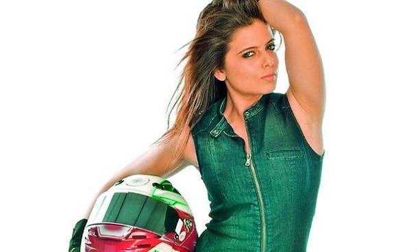 Photo of The real-life biker in Irumbu Kuthirai signs her next