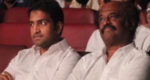 Santhanam, Rajinikanth at YG Mahendran Drama Festival Stills