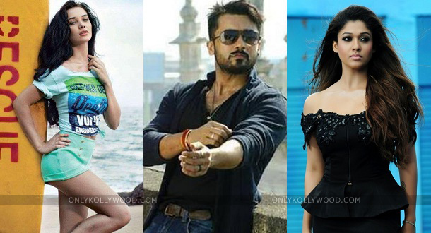 Photo of Amy Jackson joins Nayanthara for Surya's next