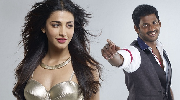 Photo of Vishal is all praise for Shruti Haasan