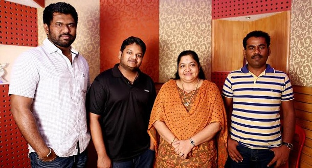 Photo of KS Chithra lends her voice for Ghibran