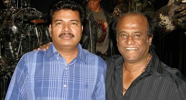 Shankar meets Rajinikanth