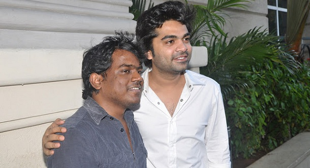 Photo of TR, Simbu, Kuralarasan and Yuvan sing for Idhu Namma Aalu