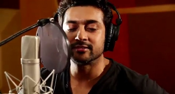Photo of Surya croons for Anjaan
