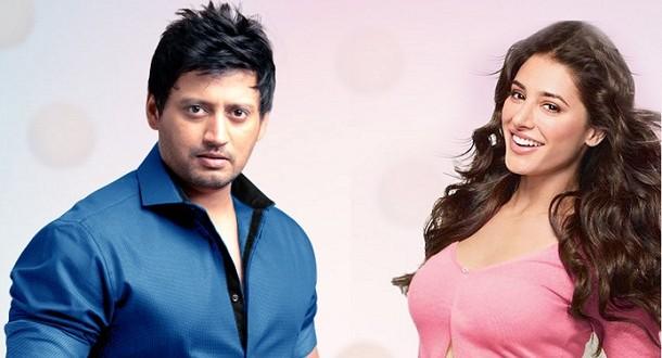 Nargis Fakhri shoots an item number with Prashanth in Chennai - Only