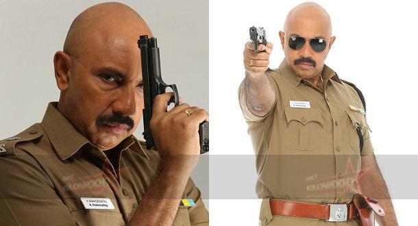 Photo of Sathyaraj goes bald for Poojai