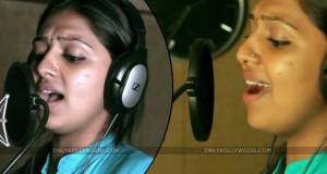 Lakshmi Menon sings oorr copy