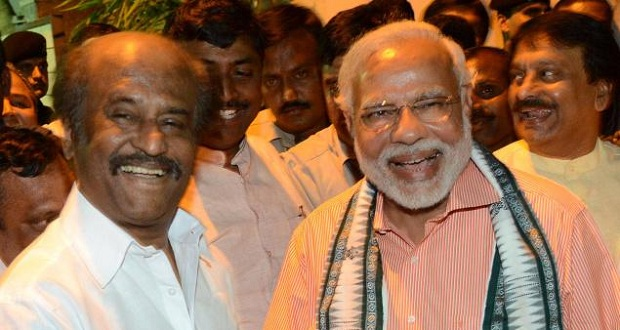 Photo of Rajinikanth to join BJP after Lingaa?