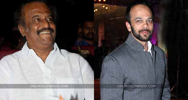 Photo of Rajinikanth surprises Chennai Express director Rohit Shetty