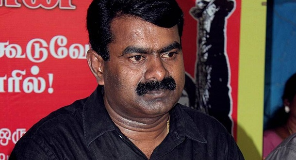 Photo of Seeman's five pertinent questions in support of Vijay and Kaththi