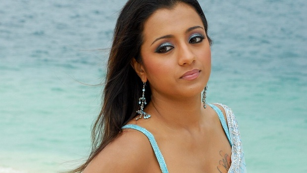 Photo of Trisha sports a two-piece swimsuit in Power?