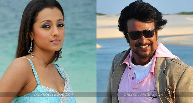 Photo of Trisha denies shaking a leg with Rajinikanth in Lingaa