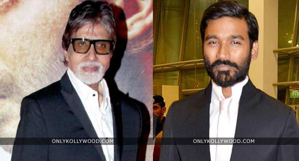 Photo of Amitabh Bachchan lends his voice for Dhanush