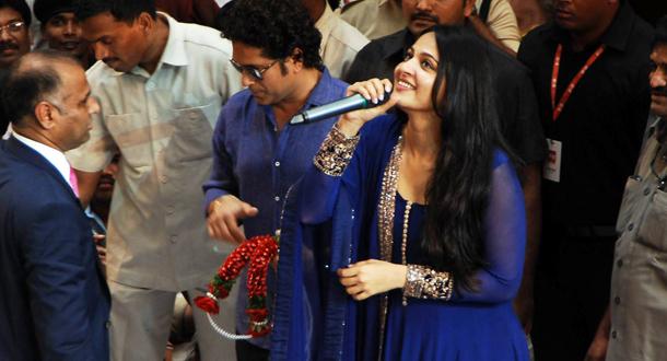 Photo of Anushka's rendezvous with Sachin