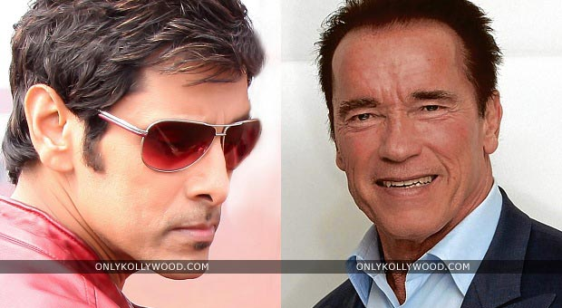 Photo of Arnold Schwarzenegger amazed by Vikram's effort for Ai