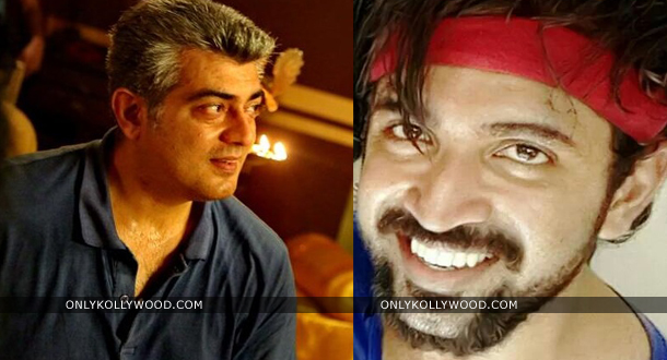 Photo of Ajith and Arun Vijay barbeque for Thala 55 crew