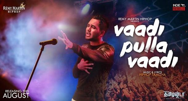 Photo of Hiphop Tamizha – Vaadi Pulla Vaadi (Official Music Video)