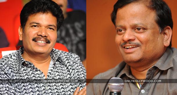Photo of KV Anand and Shankar laud Jigarthanda