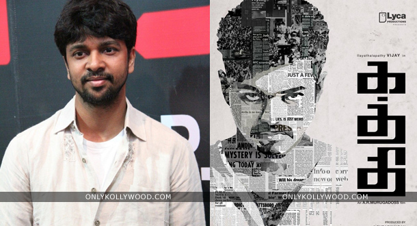 Photo of Madhan Karky to continue his winning stride for Vijay in Kaththi