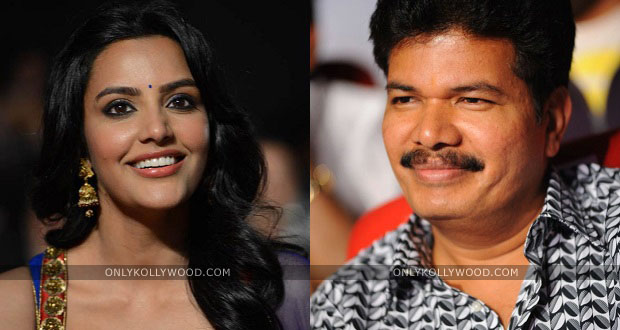 Photo of Priya Anand wanted to work with Director Shankar