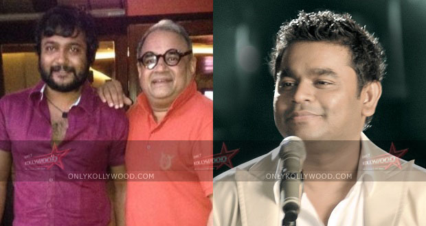Photo of AR Rahman to compose music for Bobby Simha's next?