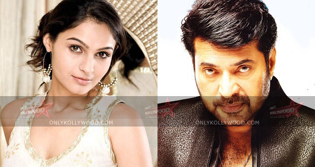 Photo of Andrea to romance Mammootty in her next?