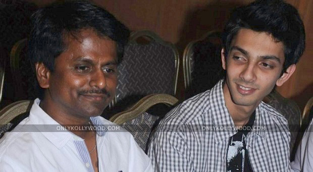 Photo of AR Murugadoss and Anirudh for director SS Stanley?