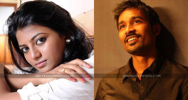 Photo of Anandhi is not approached for Dhanush's next, confirms Velraj