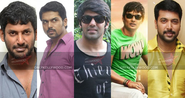 Photo of Vishal, Karthi, Arya, Jiiva and Jayam Ravi to do a multi-starrer in 2015 for SIFAA