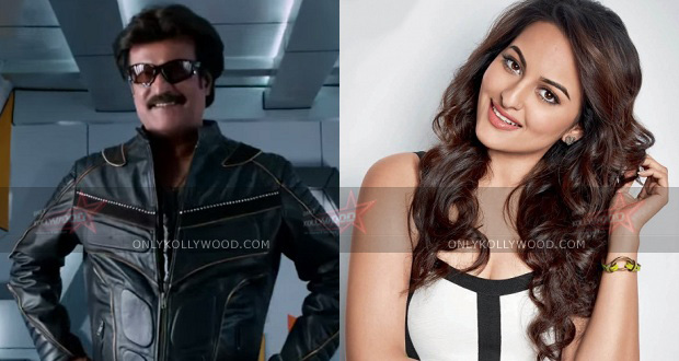 Photo of Being Rajini sir's heroine is a special privilege: Sonakshi Sinha