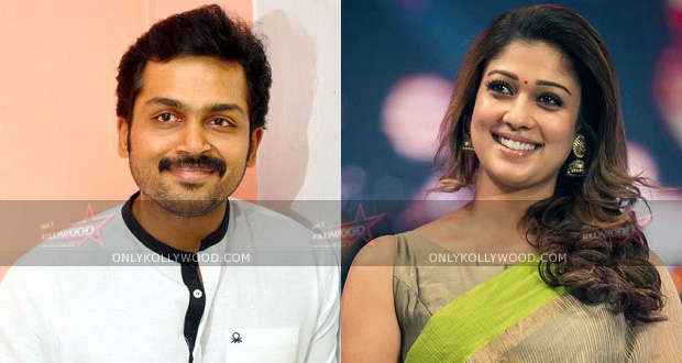 Photo of Confirmed: It's Nayanthara for Karthi in Kashmora