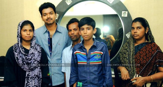 Photo of Vijay takes care of the educational needs of a tea vendor's daughter