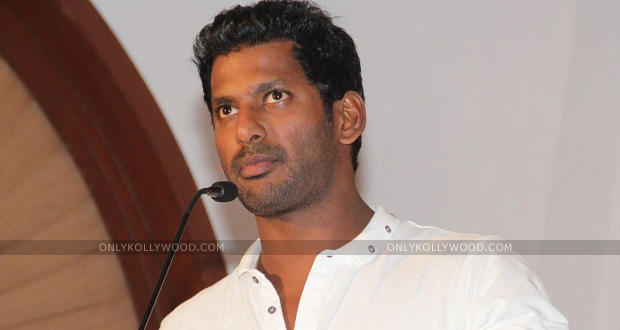 Photo of Vishal to file a complaint on SIFAA vice-president KN Kalai
