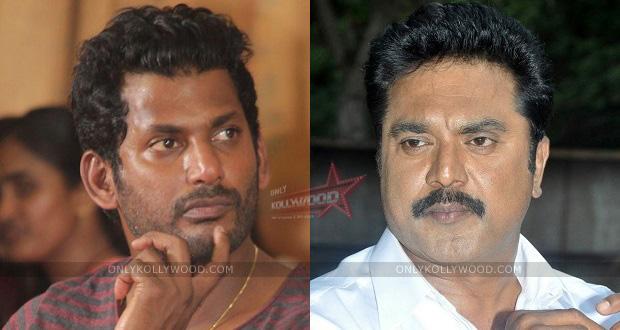 Photo of Vishal replies to Sarathkumar's statement