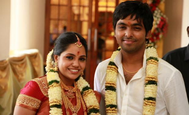 Gv Prakash Ar Saindhavi Wedding