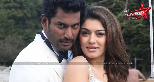 Photo of Hansika to pair up with Vishal for the second time?