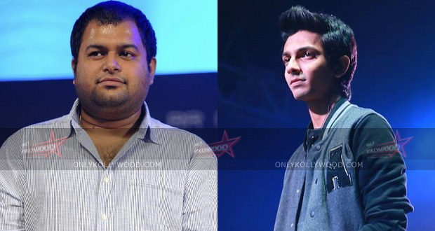 Photo of Anirudh records a song for Thaman