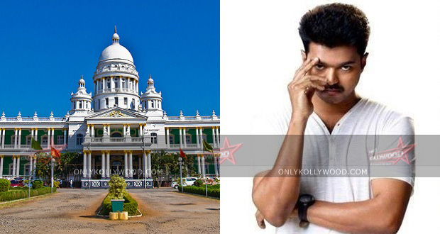Photo of Vijay 58 in the second largest palace?