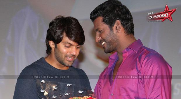 Photo of Vishal to do cameo in Vasuvum Saravananum Onna Padichavanga