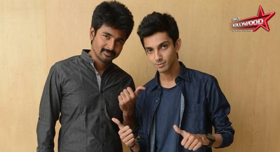 Photo of Anirudh is charged up about Kakki Sattai