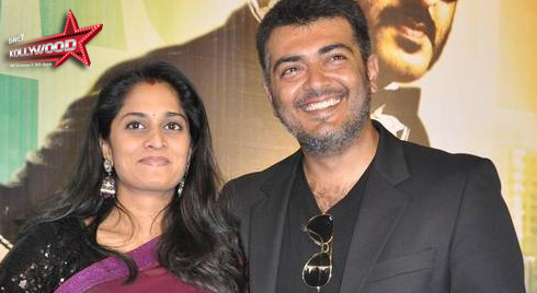 Ajith - Shalini blessed with a baby boy - Only Kollywood