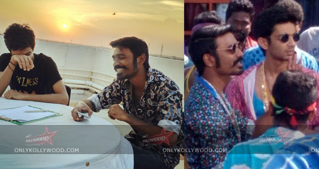 Photo of Anirudh's special appearance in Maari