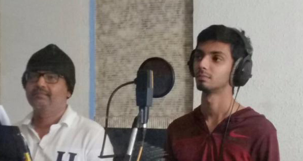 Photo of Anirudh croons for Vivek's next